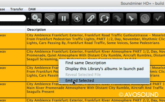 Soundminer Tips: Write metadata into the audio file