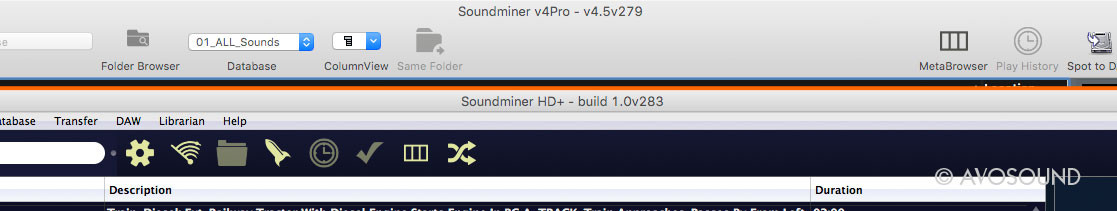 Which version of Soundminer am I using? The title bar will tell you...