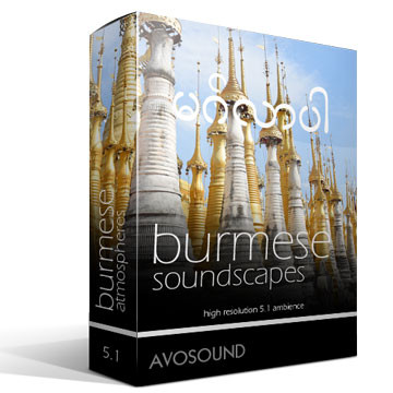 Burmese Soundscapes Version 1.00 Product Artwork