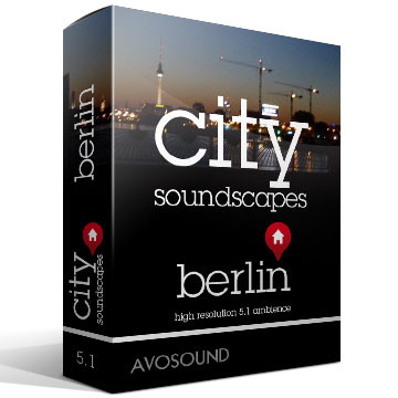 City Soundscapes Berlin Product Artwork
