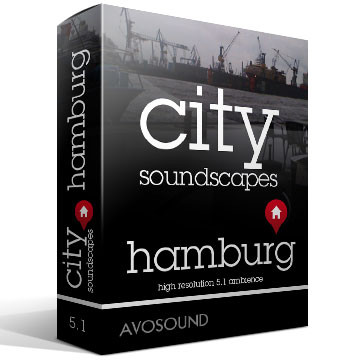 City Soundscapes Hamburg Product Artwork