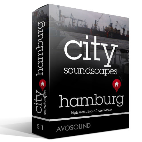 City Soundscapes Hamburg Sound Effects Library