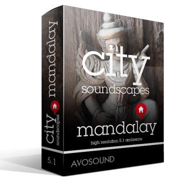 City Soundscapes Mandalay Version 1.00 Product Artwork