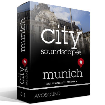 City Soundscapes Munich Product Artwork