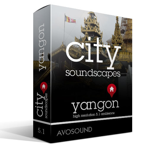 City Soundscapes Yangon Product Artwork