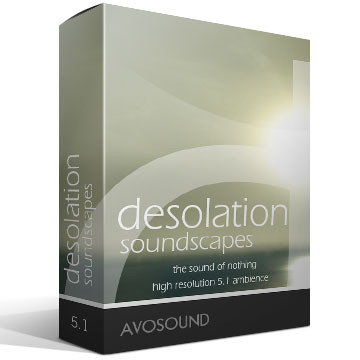 Desolation Soundscapes Version 1.00 Product Artwork