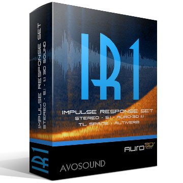IR1 Impulse Response Set Version 1.10 Product Artwork