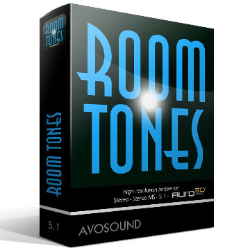 Room Tones On Harddrive Version 1.10 Product Artwork