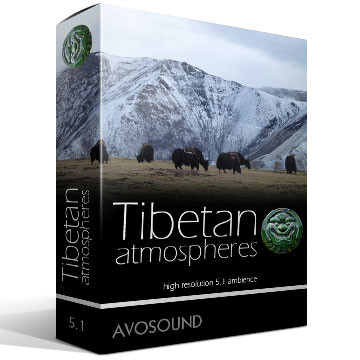 Tibetan Atmospheres Product Artwork