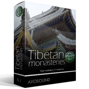 Tibetan Monasteries Product Artwork