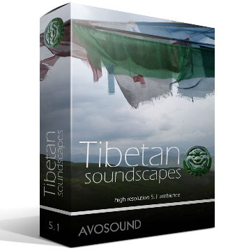 Tibetan Soundscapes Version 1.00 Product Artwork