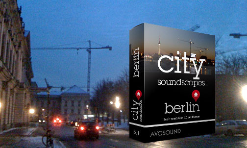 City Soundscapes Berlin: Avosound Sound Archive