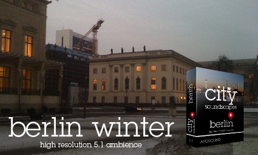 City Atmospheres Berlin - Winter Atmospheres