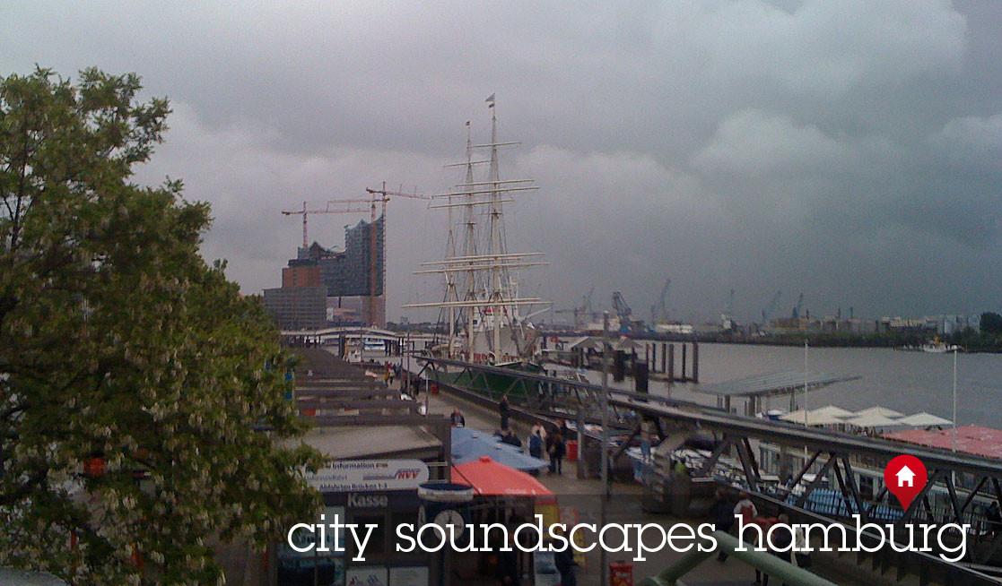 Städte Atmosphären Hamburg Frühlingsatmsphäre an der Elbe