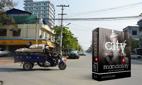City Soundscapes Mandalay Sound Archive - Mandalay Traffic