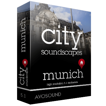 City Soundscapes Munich