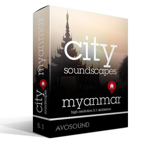 City Soundscapes Myanmar with city recordings of Yangon, Mandalay, Pyin U Lwin and others