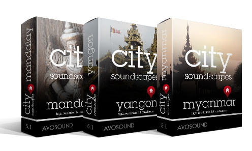 City Soundscapes Myanmar - Burmese City Sounds