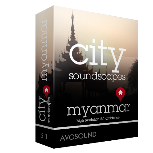 City Soundscapes Myanmar