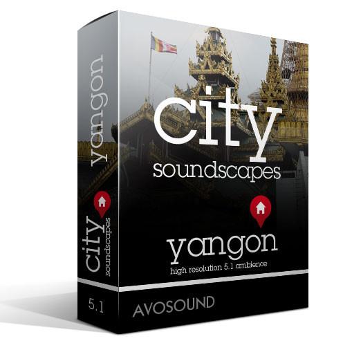 Städte Atmosphären Yangon Geräusch Archiv