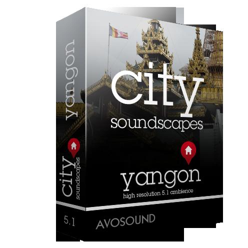 Städte Atmosphären Yangon