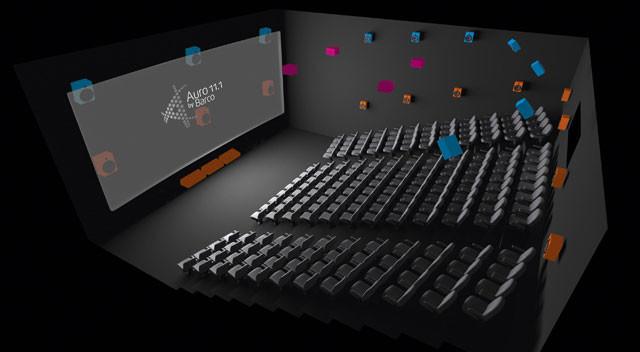Auro-3D® 11.1 3D Kino Ton Format