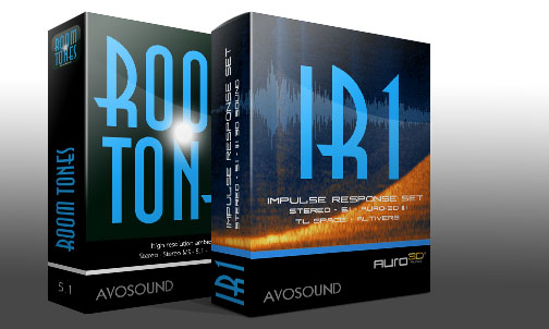 Avosound Room Tones Sound Library available as download