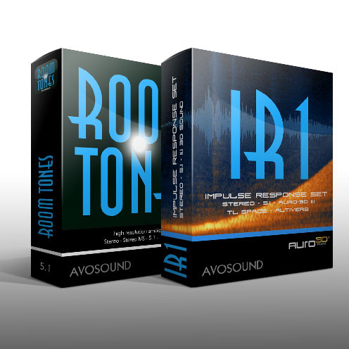Avosound Room Tones And IR1 Impulse Response Set