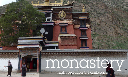 Tibetan Monastery Sachung Atmospheric Sounds