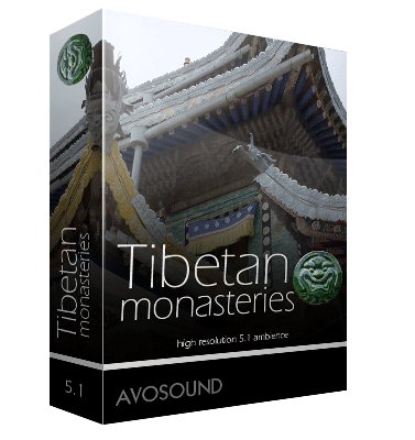 Tibetan Monastery, Atmospheric Sounds
