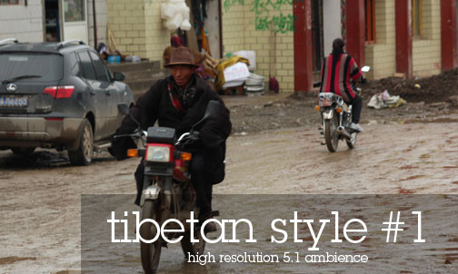 Picture Tibetan Cities - Honda