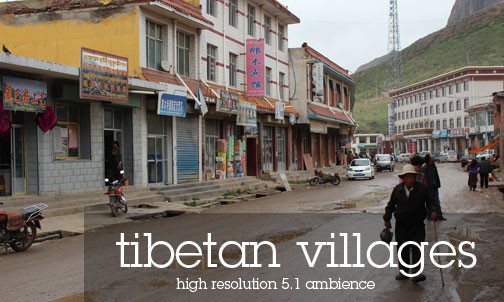 Sound Recordings from Tibetan villages and cities