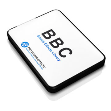 BBC Series 1-166 and BBC Historical Sound Effects Library Product Artwork