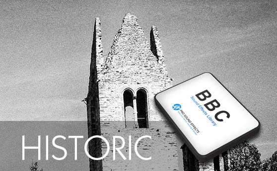 Das historische Geräusch Archiv der BBC