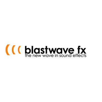 Blastwave FX Sound Effects Label Logo