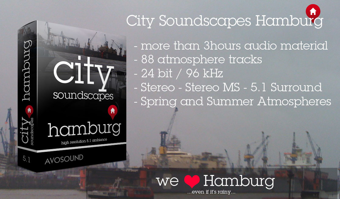 City Soundscapes Hamburg Sound Library