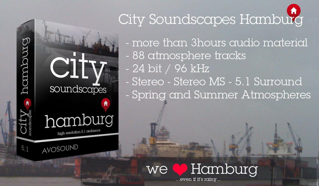 Städte Atmosphären Hamburg Geräusch Archiv