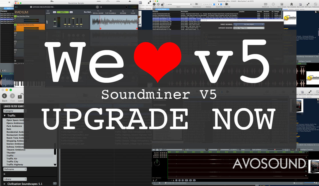 Soundminer V5 Pro - Upgrade Now