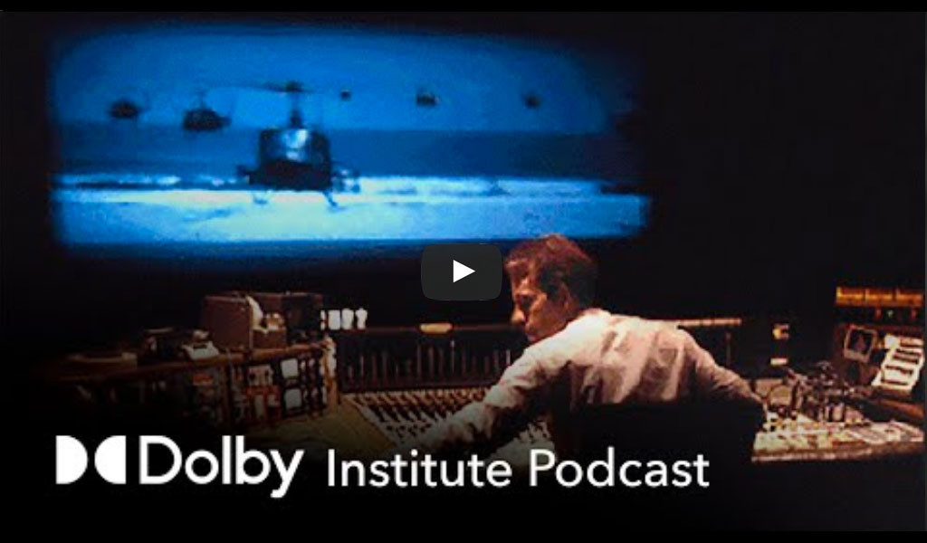 Image: Sound Designers Ben Burtt, Walter Murch and Gary Rydstrom in conversation about the film Making Waves