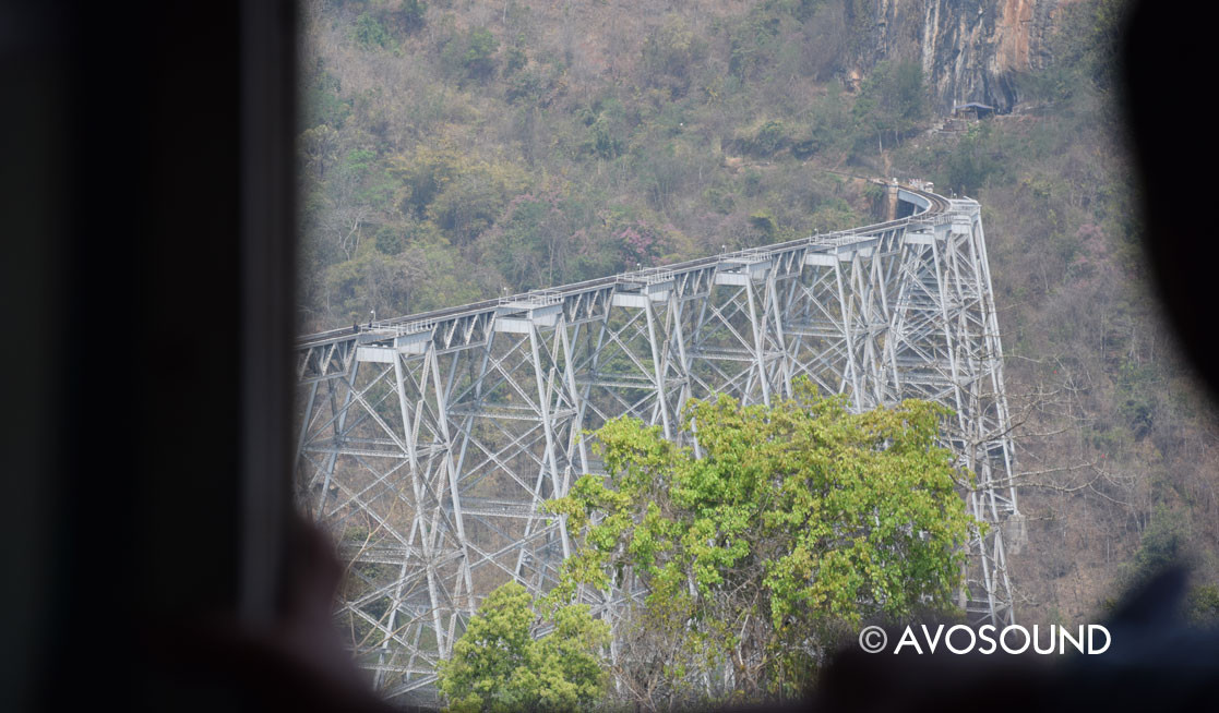 Travel Log Myanmar Goteik Viaduct
