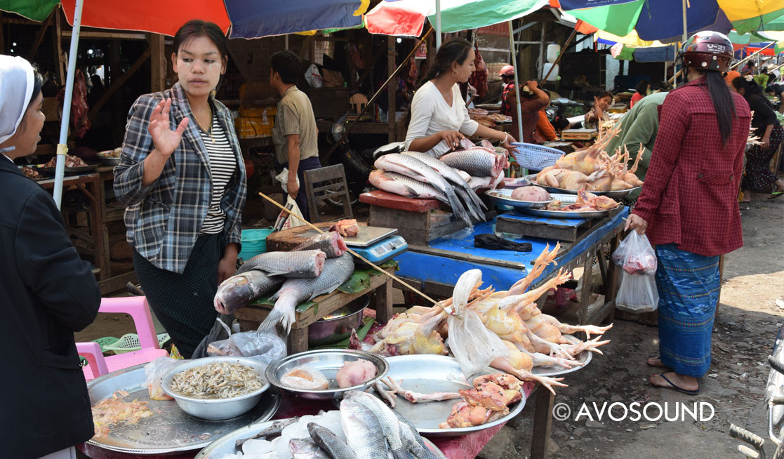 The market in Pyin U Lwin - Myanmar Travel Log