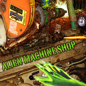 Alien Machine Shop Produkte Bild