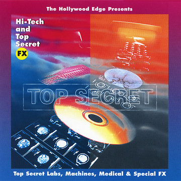 Hi-Tech and Top Secret Effects Product Artwork