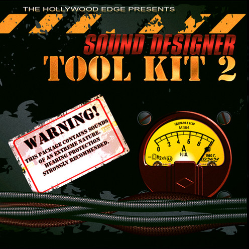 Sound Designer Tool Kit 02 Product Artwork