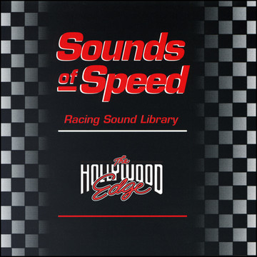 Sounds of Speed Racing Sound Library Product Artwork
