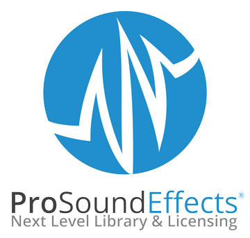 Pro Sound Effects Geräusche Label Logo