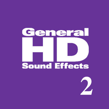 General HD 2 Sound Effects Library Product Artwork
