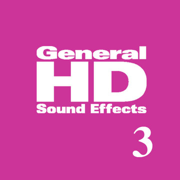 General HD 3 Sound Effects Library Product Artwork