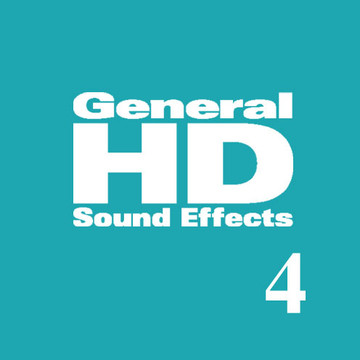 General HD 4 Sound Effects Library Product Artwork