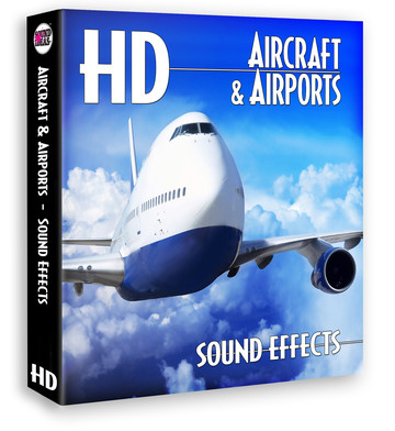 HD – Aircraft And Airports Sound Effects Product Artwork
